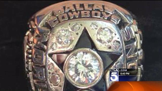 NFL Hall of Famer Lance Alworth Reunited With Stolen Super Bowl Ring