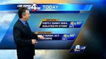 Saturday Forecast for 6-8-13