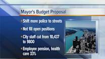 Mayor proposes to cut council budget, city workers