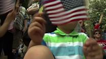 Parade marks Memorial Day in nation's capital