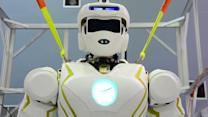 NASA'S IRON MAN ROBOT