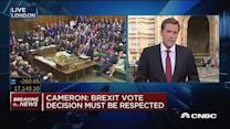 David Cameron: Brexit must be accepted