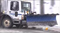 Snowstorm Causes Slick Conditions In Westchester County