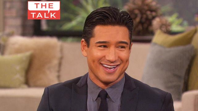 The Talk - Mario Lopez Shares New Baby Photos