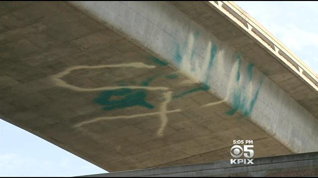Drip-Tagging Graffiti Becoming A Super-Sized Problem In San Jose