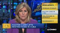 CNBC update: MasterCard lifts restrictions in Cuba
