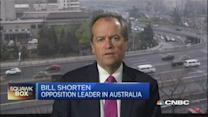 Shorten: China-Australia trade pact is positive