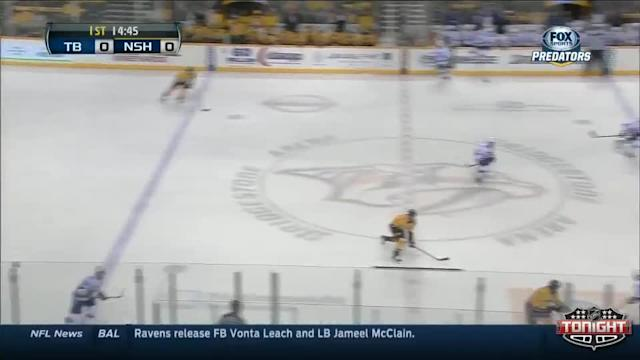 Tampa Bay Lightning at Nashville Predators - 02/27/2014