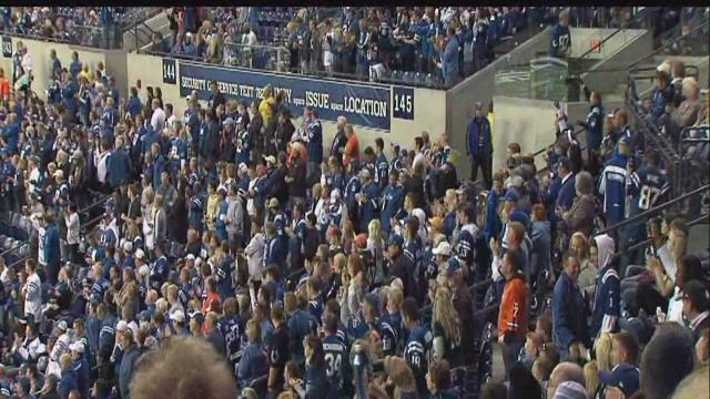 IMPD: Drunken man arrested after Colts game for toppling spectator, causing cuts, bruises