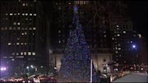 Phila. welcomes holidays with annual tree lighting