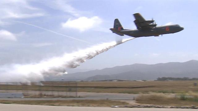 National Guard C-130 poised for fire season