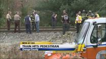 Amtrak train hits, kills pedestrian in Mebane