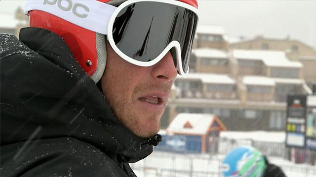 Alpine skier Bode Miller doesn't always love the snow