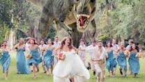 T. Rex Chases Wedding Party in Viral Photo