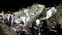 Plane Crashes in Taiwan, Dozens Feared Dead
