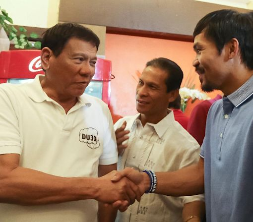 Phillipines president comparing himself to Hitler puts Manny Pacquiao on the spot