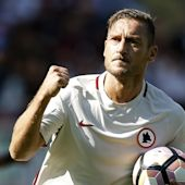 Totti reaches 250 Serie A goals in Roma defeat