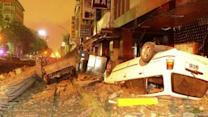 At least 20 dead in gas explosion in southern Taiwan