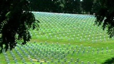 Area Military Cemeteries Problem-Free, Govt. Says
