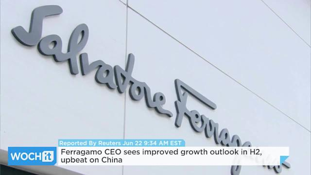 Ferragamo CEO Sees Improved Growth Outlook In H2, Upbeat On China