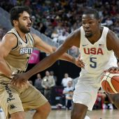 US open Rio tune-up with 111-74 win over Argentina