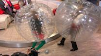 'GMA' Gang Plays 'Bubble' Soccer