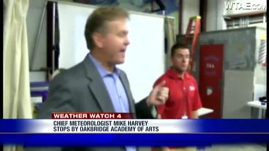 Weather Watch 4 School Visit: Oakbridge Academy of Arts