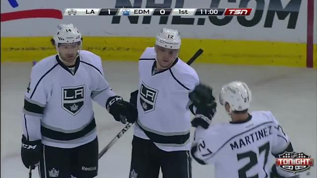 Los Angeles Kings at Edmonton Oilers - 04/10/2014