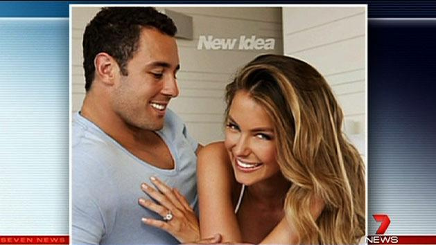 Jennifer Hawkins weds in Bali