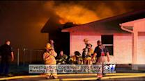 Firefighter Injured Battling Church Fire Near Wylie