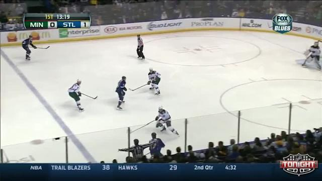 Minnesota Wild at St. Louis Blues - 03/27/2014