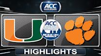 Miami vs Clemson | 2014 ACC Baseball Championship Highlights