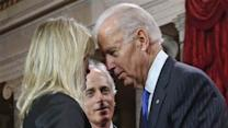 Joe Biden Flirts With Senate Family Members