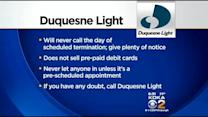 Con Artists Obtaining Duquesne Light Customer Info, Calling To Demand Payment