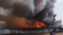 Fire Tears Through Eastbourne Pier