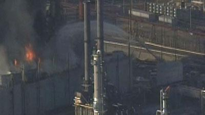 Official: No explosion at Calif. refinery