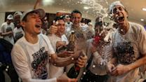 Mixers celebrate 2014 PBA Grand Slam Championship
