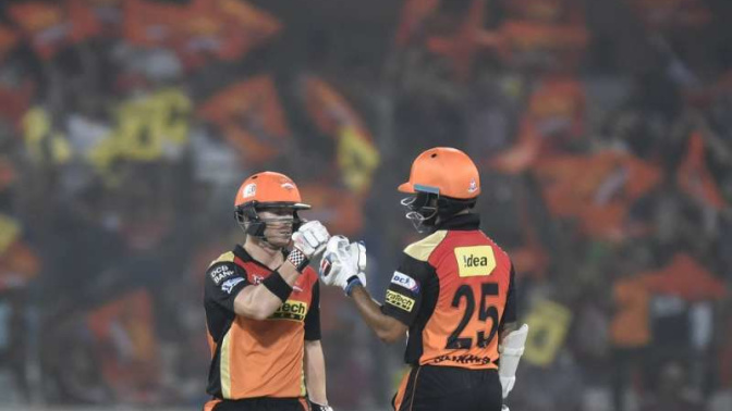 IPL 2017 SRH vs KKR: Sunrisers Hyderabad (SRH) Today's probable playing 11 against Kolkata Knight Riders (KKR)