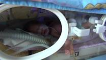 Maternity ward protects newborns in the midst of Ukraine's battle