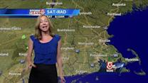 Danielle Vollmar's weekend forecast