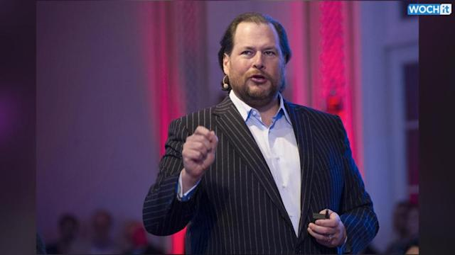 Salesforce CEO Marc Benioff Urges Tech Community To Give Back Right Now