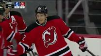 Damien Brunner finishes a pass from Gelinas