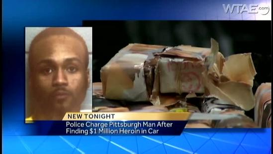 Police say man had $1 million in heroin on Pa. Turnpike