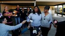 Oscar Grant's mother shows up to support Oakland family
