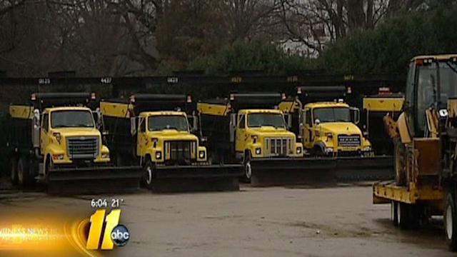 DOT crews prep for freezing rain