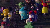 Balloons paint the sky at Albuquerque festival