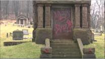 Vandals strike historic cemetery in Lehigh Valley