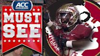 Florida State's James Wilder Jr. Keeps Balance For Touchdown | ACC Must See Moment