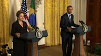 Obama: US and Brazil 'natural partners'