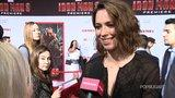 """Rebecca Hall Talks """"First-Day-of-School Nerves"""" on the Iron Man 3 Set"""